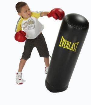 Kids Inflatable Punching Bag Set